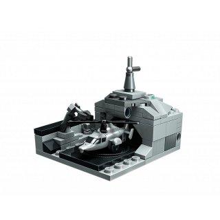 Tengeri cirkáló, 8 az 1-ben Lego kompatibilis építőjáték készlet (QMAN, 1411, 6-12 év)