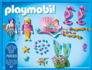 Tengeri csikó hintó, Playmobil szerepjáték (70033, 4-10 év)