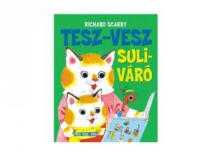 Tesz-Vesz suliváró, mesekönyv óvodásoknak (MO)