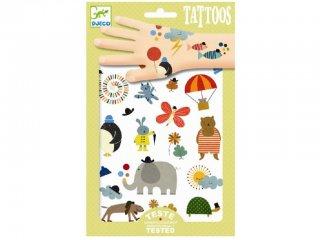 Tetoválás, Bájos apróságok (Djeco, 9579, bőrbarát tetkó, 3-10 év)