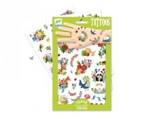 Tetoválás, Boldog tavasz (Djeco, 9591, bőrbarát tetkó, 3-10 év)