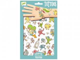 Tetoválás, Bolondozás (Djeco, 9583, bőrbarát tetkó, 3-10 év)