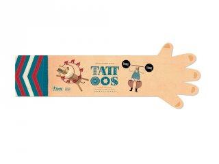 Tetoválás Cirkuszi kalandok, 10 db bőrbarát tetováló matrica