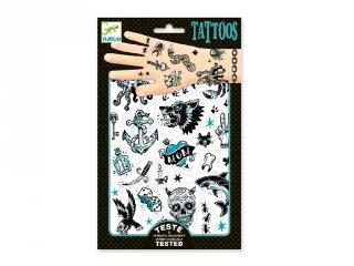 Tetoválás Dark Side, Djeco bőrbarát tetkó - 9594