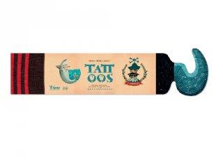 Tetoválás Kalózok, 10 db bőrbarát tetováló matrica