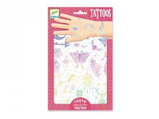 Tetoválás Lucky charms, Djeco bőrbarát tetkó - 9596