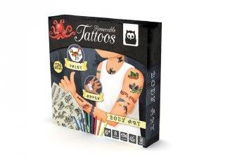 Tetováló műhely fiúknak, kreatív játék