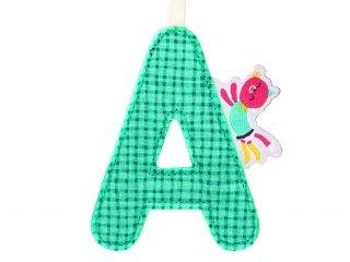 Textil betű, A (Lilliputiens, szobadekorációs kellék, 0-99 év)