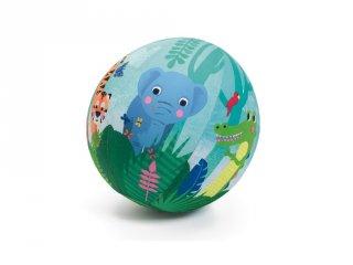 Textilhuzat lufira 23 cm Jungle ball, Djeco mozgásfejlesztő játék - 2056 (4 db lufival)
