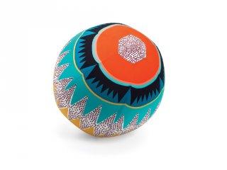 Textilhuzat lufira 30 cm Graphic ball, Djeco mozgásfejlesztő játék - 2057 (1 db lufival)