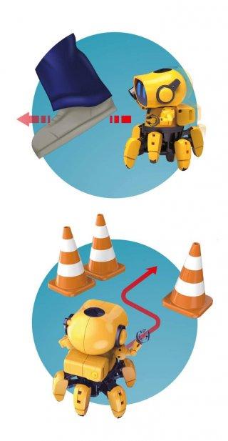 Tibo Robot, Buki tudományos robotépítő játék (8-99 év)