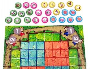 Tic Tac Moo, kétszemélyes játék (az amőba és a malom kombinációja, 8-99 év)