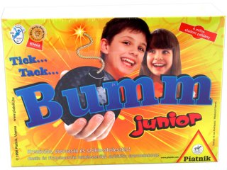 Tick Tack Bumm Junior (Piatnik, parti szójáték, 5-10 év)