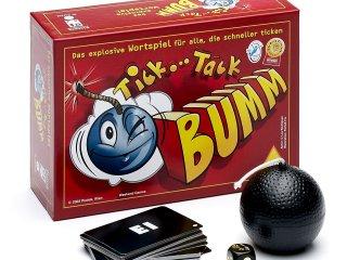Tick Tack Bumm, Német (Piatnik, idegennyelvű partijáték, 8-99 év)