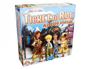 Ticket to Ride, Az első utazás (vonatos, családi stratégiai társasjáték, 6-99 év)