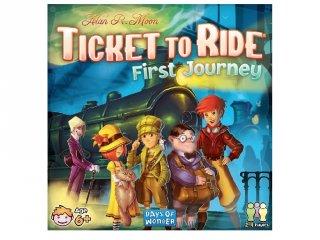 Ticket to Ride, First Journey, Amerika (vonatos, családi stratégiai társasjáték, 6-99 év)