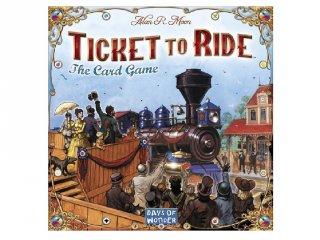Ticket to Ride, kártyajáték (vonatos, családi stratégiai társasjáték, 8-99 év)