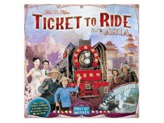 Ticket to Ride, Térkép kollekció 1., Ázsia (vonatos, családi stratégiai társasjáték, 8-99 év)
