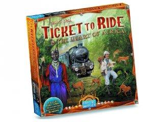 Ticket to Ride, Térkép kollekció 3., Afrika (vonatos, családi stratégiai társasjáték, 8-99 év)