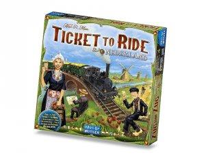 Ticket to Ride, Térkép kollekció 4., Hollandia (vonatos, családi stratégiai társasjáték, 8-99 év)