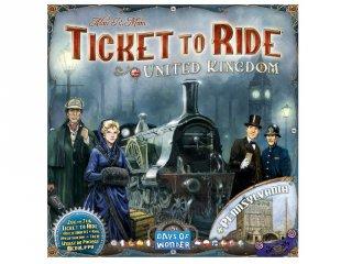 Ticket to Ride, Térkép kollekció 5., Egyesült Királyság és Pennsylvánia (vonatos, családi stratégiai társasjáték, 8-99 év)