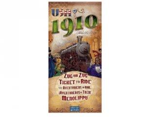Ticket to Ride USA 1910, a Ticket to Ride kiegészítő játéka (vonatos, családi stratégiai társasjáték, 8-99 év)