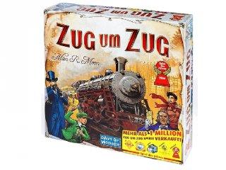 Ticket to Ride, Zug um Zug (Díjnyertes vonatos társasjáték, 8-99 év)