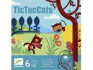 TicTacCats (Djeco, 8449, amőba stratégiai társasjáték, 6-12 év)