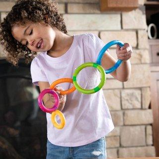 Tinker Rings mágneses karikák, készségfejlesztő játék (FB, 2-5 év)