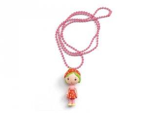 Tinyly nyaklánc Berry medállal, Djeco gyerekékszer - 6992
