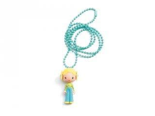 Tinyly nyaklánc Flore medállal, Djeco gyerekékszer - 6993