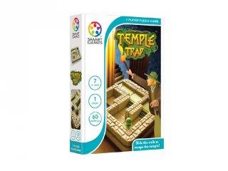 Titkok temploma, Smart Games (Temple Trap, egyszemélyes, fal tologatós, útkereső logikai játék, 6-99 év)