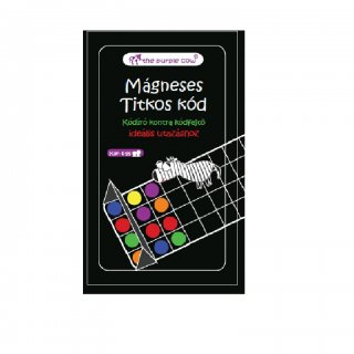 Titkos kód, mágneses társasjáték (Purple Cow, logikai játék, 6-12 év)
