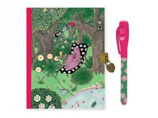 Titkos napló mágikus filctollal Fanny, Lovely Paper Djeco, papír írószer - 3613