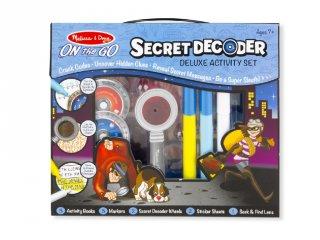 Titkos ügynök készlet, Melissa&Doug nyomozós szett (5238, 7-12 év)