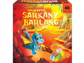 Titokzatos sárkánybarlang (Drei Magier Spiele, sárkányos memóriafejlesztő társasjáték, 5-99 év)