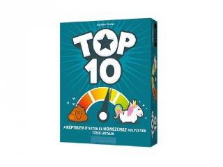 Top10 társasjáték, könnyed, laza partijáték (14-99 év)
