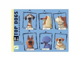 Top Dogs Nagykutyák, Djeco kártyajáték - 5099 (8-99 év)