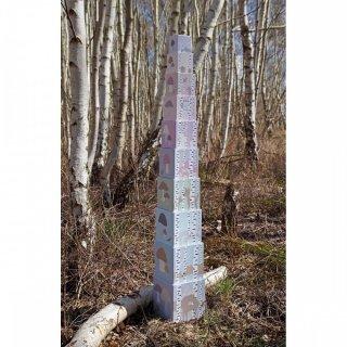 Toronyépítő kocka Az erdő állatai, bébi építőjáték (Jabadabado, 1-5 év)