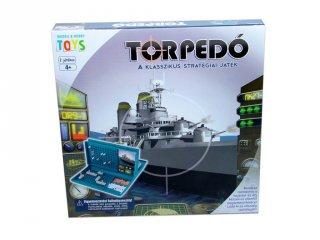 Torpedó (MH, klasszikus, kétszemélyes stratégiai társasjáték, 5-99 év)