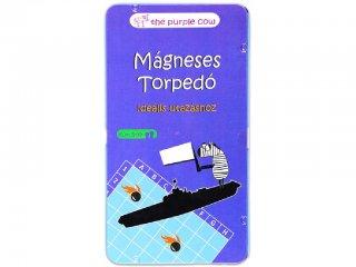 Torpedó (Purple Cow, mágneses, kétszemélyes, logikai úti társasjáték, 4-99 év)