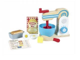 Torta készítő, 11 db-os fa konyhai játék (MD, 9840 3-7 év)