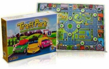 Traff Park (közlekedést tanító társasjáték, 3-6 év)