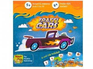 Trafficars, autókkal a számok és számolás világába, Brainy Band (kártyajáték, 5-10 év)