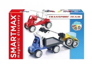 Transport Team Smartmax, mágneses kreatív építőjáték (3-7 év)