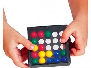 Trükkös ujjak (Edushape, kézügyesség fejlesztő játék feladatlapokkal, 3-99 év)
