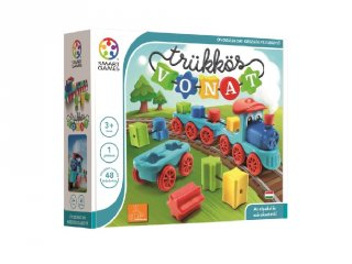 Trükkös vonat, Smart Games egyszemélyes logikai játék (3-7 év)
