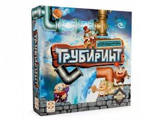 Tubyrinth (PI, gyorsasági labirintus építő logikai társasjáték, 8-99 év)