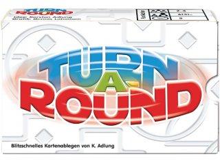 Turn A-Round, kártyajáték (Adl, gyorsasági társasjáték, 6-99 év)