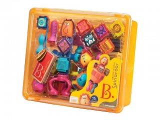 Tüskejáték, Figura készítő (Bristle Blocks, Spinaroos, 75 db-os kreatív építőjáték, 1,5-6 év)